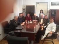 Συνάντηση του Μανώλη Γραφάκου και στελεχών της Συμπολιτείας με το Διοικητή του Σισμανογλείου Νοσοκομείου κο Ηλία Καυκά