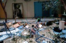 Σοβαρές καταστροφές από την κατάληψη εξωσχολικών στοιχείων στο Λύκειο Μελισσίων.  Άστοχες κινήσεις από το διευθυντή, θεατής για ακόμα μια φορά η δημοτική αρχή