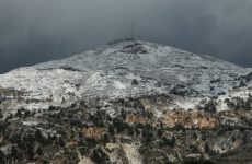 Snow on the mountain of Penteli, Athens, December 26, 2018 / Χιόνια στην Πεντέλη, στην Αθήνα, 26 Δεκεμβρίου, 2018