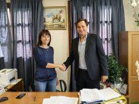 Η Δήμαρχος Πεντέλης Δήμητρα Κεχαγιά υπέγραψε το Σχέδιο Βιώσιμης Αστικής Κινητικότητας