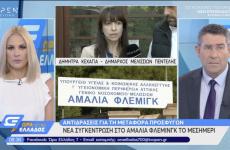 Η Δήμαρχος Πεντέλης Δήμητρα Κεχαγιά στο Open TV:   Διεκδικούμε την άμεση ανάκληση της απόφασης του  Υπουργού Εργασίας και Κοινωνικών Υποθέσεων για την παραχώρηση της πτέρυγας Μπόμπολα του Νοσοκομείου Αμαλία-Φλέμιγκ στο Υπουργείο Προστασίας του Πολίτη