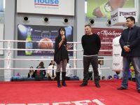 Η Δήμαρχος Πεντέλης Δήμητρα Κεχαγιά τιμήθηκε από τον Αθλητικό Σύλλογο Κ1 Gym και την Ελληνική Ομοσπονδία Kick Boxing