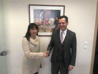 Συνάντηση της Δημάρχου Δήμητρας Κεχαγιά με τον Διευθύνοντα Σύμβουλο του ΑΔΜΗΕ κ. Μανούσο Μανουσάκη για τη μεταφορά των πυλώνων της ΔΕΗ στη Νέα Πεντέλη