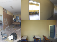 Ανακαινίσεις, επισκευές και αποκαταστάσεις ζημιών στα Λύκεια και στα Δημοτικά της πόλης