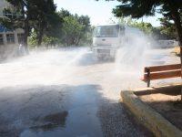 Σχολαστικοί και τακτικοί καθαρισμοί και διανομή αντισηπτικών στα Σχολεία του Δήμου Πεντέλης