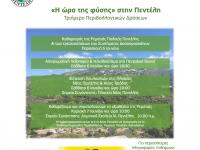 «Η Ώρα της Φύσης στην Πεντέλη». Τριήμερο Περιβαλλοντικών Δράσεων για την Παγκόσμια Ημέρα Περιβάλλοντος