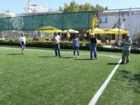 Νέος χλοοτάπητας και νέα καθίσματα στο Δημοτικό Γήπεδο ποδοσφαίρου στα Μελίσσια