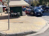 Απομακρύνεται το περίπτερο από το πεζοδρόμιο της οδού Δημοκρατίας και Ηρώου. Δήμητρα Κεχαγιά: Αναβαθμίζουμε την αισθητική της πόλης, διευκολύνουμε την κίνηση των πεζών