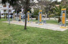 Ένα ακόμη υπαίθριο γυμναστήριο δημιουργήθηκε στη Νέα Πεντέλη στην Πλατεία Αγίου Σύλλα