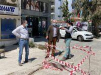 Ξεκίνησε ο Δήμος Πεντέλης το έργο της ανακατασκευής και συντήρησης πεζοδρομίων σε κεντρικά σημεία της πόλης